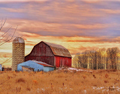 Photograph - Early Spring On The Farm by Peg Runyan