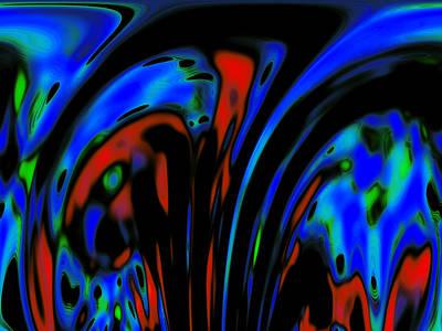 Destruction Digital Art - Earth Destruction by Steve K