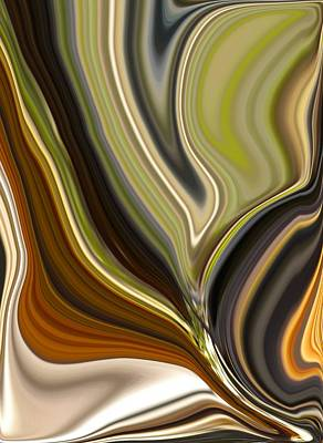Earth Tones Art Print by Renate Nadi Wesley