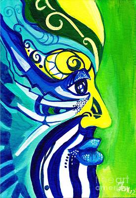Jamaican Painting - Earth Wind And Water One by Sharon Fox-Mould