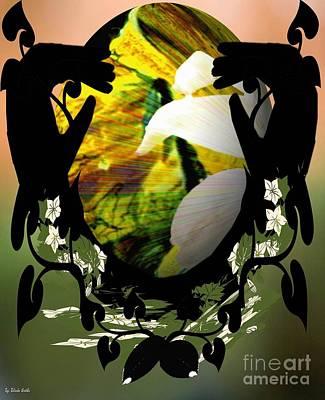 Digital Art - Earthly Love by Belinda Threeths