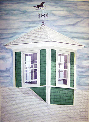 East Boothbay Cupola Art Print by Daryl Shaw