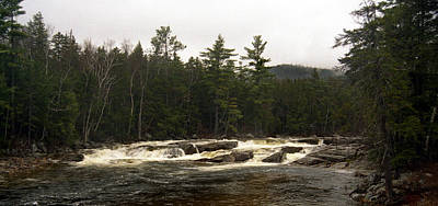 New Hampshire Tours Photograph - East Branch by Skip Willits
