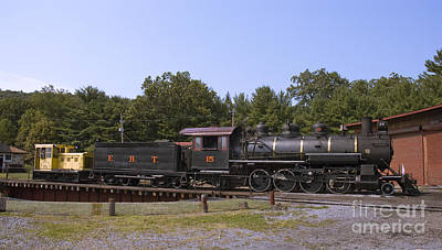 Photograph - East Broad Top Locomotive by Tim Mulina