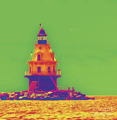 Photograph - East Coast Lighthouse by Cindy Lee Longhini