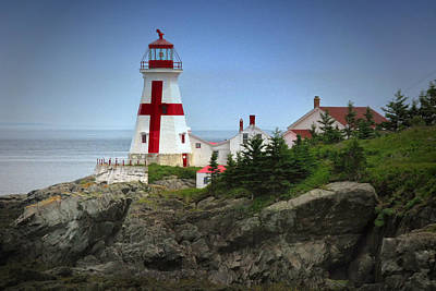 East Quoddy Lighthouse Art Print by Robert Wicker