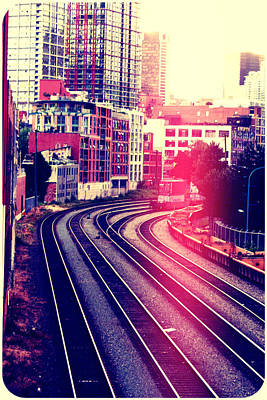 Photograph - East Side Trax by Lauren Williamson