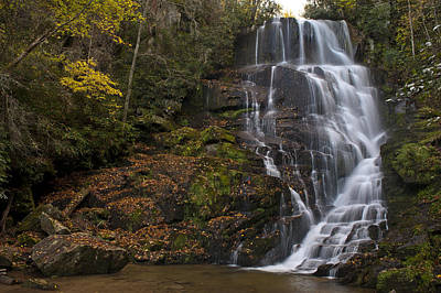 Photograph - Eastatoe Falls by Rick Hartigan