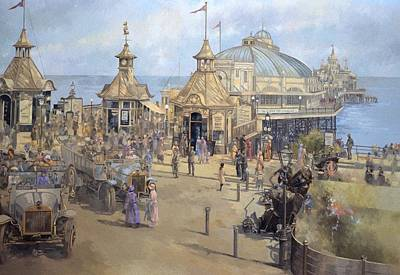 Eastbourne Painting - Eastbourne by Peter Miller