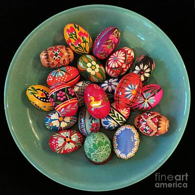 Photograph - Easter Egg Mandala by Patricia Januszkiewicz