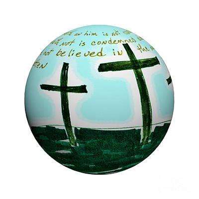 Easter Art Print by Karen Francis
