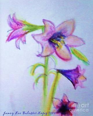 Thomas Kinkade - Easter Lilies by Jamey Balester