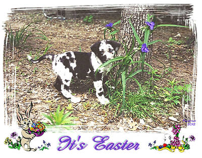 Easter Art Print by Poni Trax