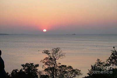 Photograph - Easter Sunrise In Yorktown by Marilyn West