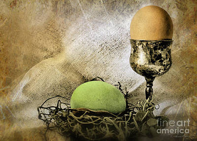 Photograph - Easter With Patina 1 by Danuta Bennett