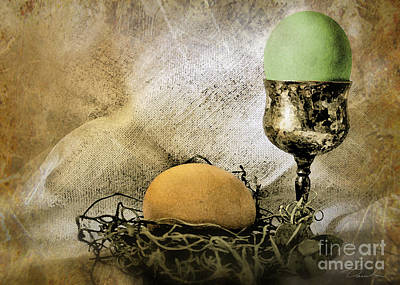 Photograph - Easter With Patina 2 by Danuta Bennett