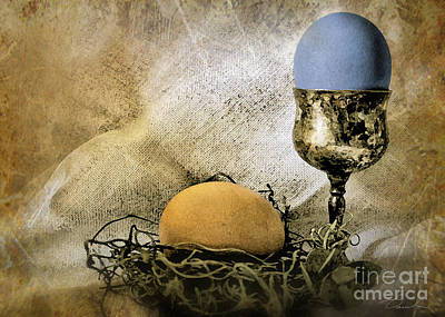 Photograph - Easter With Patina 3 by Danuta Bennett