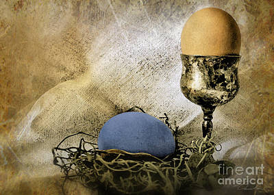 Photograph - Easter With Patina 5 by Danuta Bennett