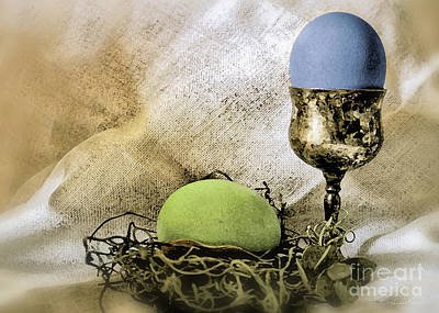 Photograph - Easter With Patina 6 by Danuta Bennett