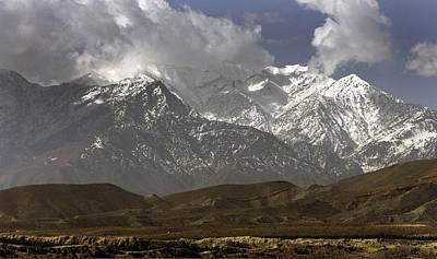 Eastern Afghanistans White Mountains Art Print