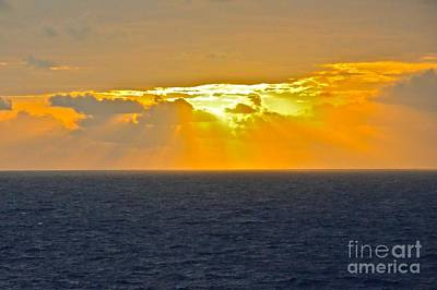Photograph - Eastern Caribbean Sunset by Carol  Bradley