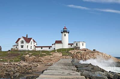 Eastern Point Lighthouse Art Print