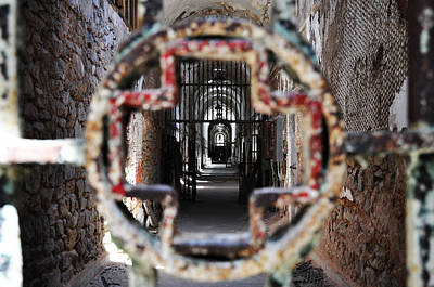 Penitentiary Digital Art - Eastern State Penitentiary - Medical Ward by Bill Cannon