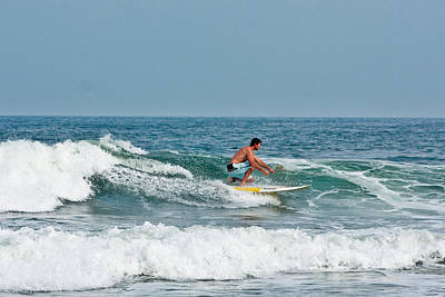 Photograph - Easy Surfing  by Ann Murphy
