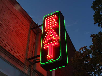 Eat 1 Art Print by Christopher Kerby