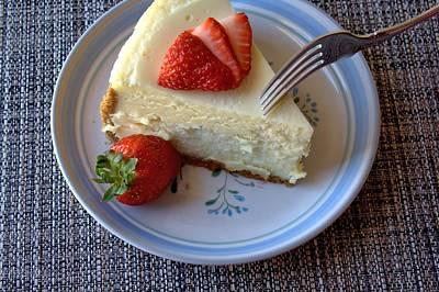 Photograph - Eating Dessert by Lynnette Johns