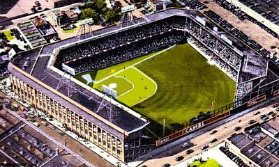 Painting - Ebbets Field In Brooklyn N Y In 1930 by Dwight Goss