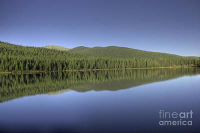 Arapaho Photograph - Echo Lake by David Bearden