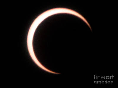 Photograph - Eclipse6 2012 by Serena Ballard