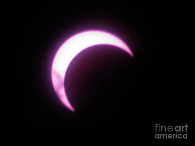 Photograph - Eclipse8 2012 by Serena Ballard