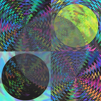 Gree Digital Art - Ecliptic by ME Kozdron