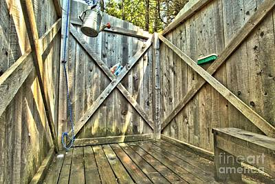Photograph - Eco Shower by Adam Jewell