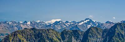 Y120831 Photograph - Ecrin Mountain Range by Marco Maccarini