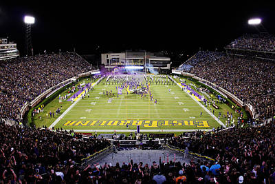 Ecu Photograph - Ecu  Dowdy-ficklen Stadium  by Rob Goldberg