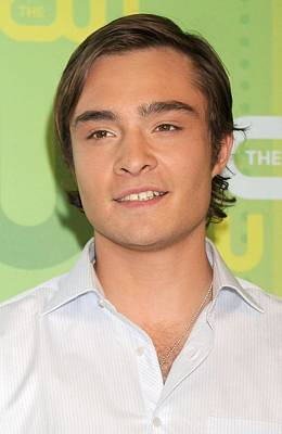 Ed Westwick At Arrivals For Part 2 - Art Print by Everett