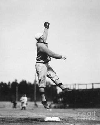 3rd Base Photograph - Eddie Grant (1883-1918) by Granger