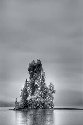 Eddystone Rock Misty Fjords National Monument Alaska Art Print