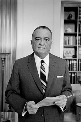 Edgar J. Hoover Director Of The Fbi Art Print by Everett