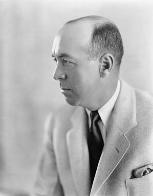 2008-2 Photograph - Edgar Rice Burroughs 1875-1950 by Everett