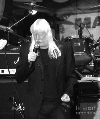 Art Print featuring the photograph Edgar Winter by Gary Brandes