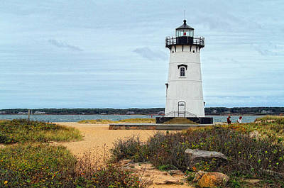 Photograph - Edgartown Lighthouse by Gina Cormier