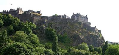 Photograph - Edinburgh Castle by Keith Stokes