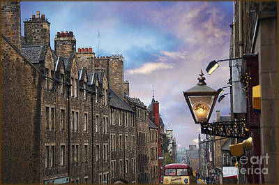 Edinburgh Mile Art Print