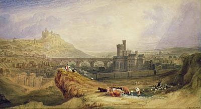 Medieval Painting - Edinburgh by Thomas Brabazon Aylmer