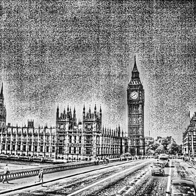 Edit Of The Day, #editeoftheday #london Art Print by Abdelrahman Alawwad