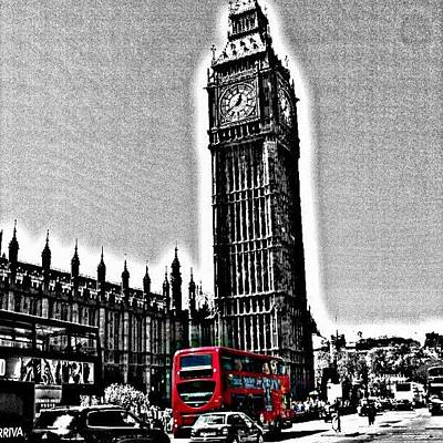 Edited Photo, May 2012 | #london Art Print